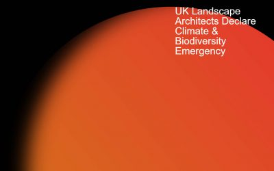 Liz Lake Associates sign the UK Landscape Architects Declare Climate & Biodiversity Emergency.