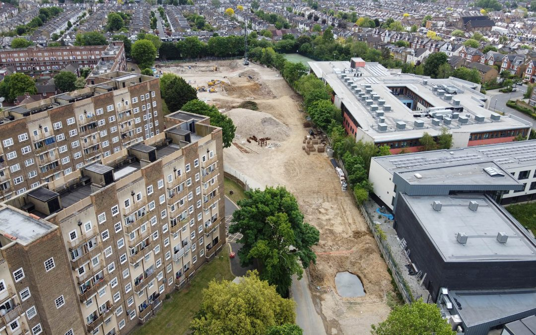 Thornton Park Progress