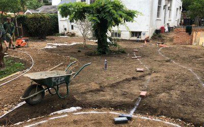 Private Garden in Construction!