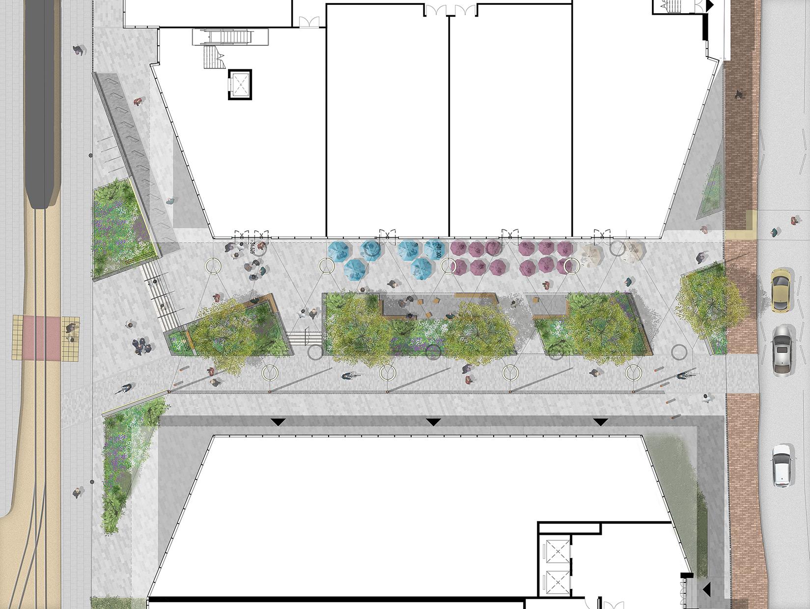 Public Realm Illustrative Plan LR