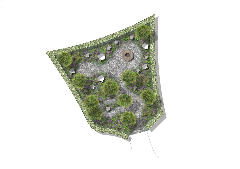 Chaumont Masterplan. Osmose Garden