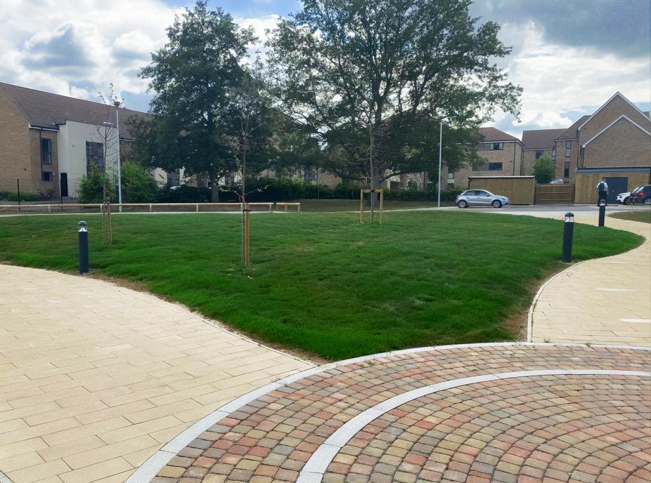 NIAB Entrance Lawn